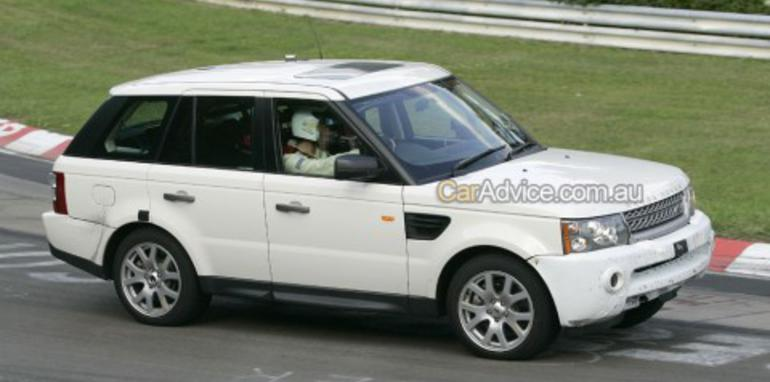 2009 Range Rover Sport spy photos