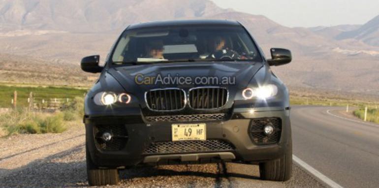 BMW X6 Hybrid Spy Photos