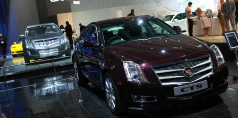 Cadillac stand 2008 London Motorshow