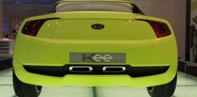 Kia Kee concept 2008 London Motorshow