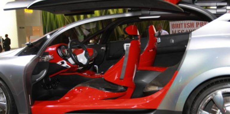Renault Megane Coupe concept 2008 London Motorshow