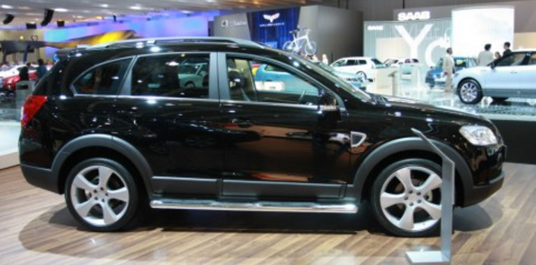 Chevrolet Captiva 2008 London Motorshow