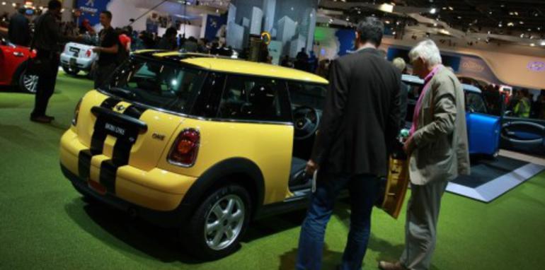 Mini stand 2008 London Motorshow