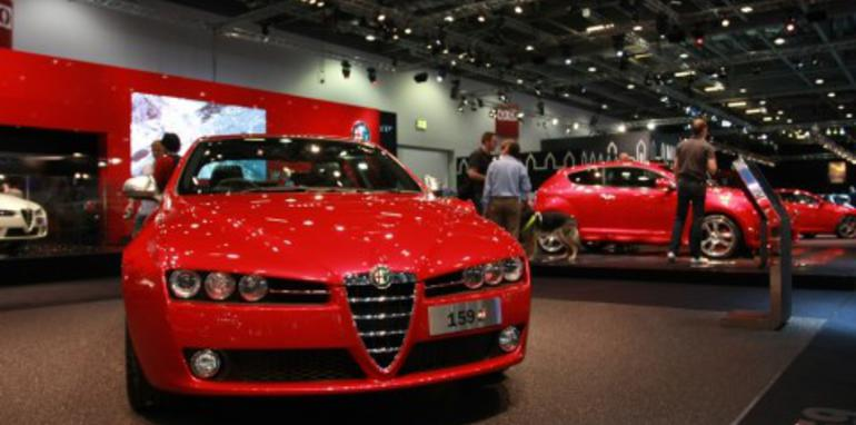 Alfa 159 2008 London Motorshow