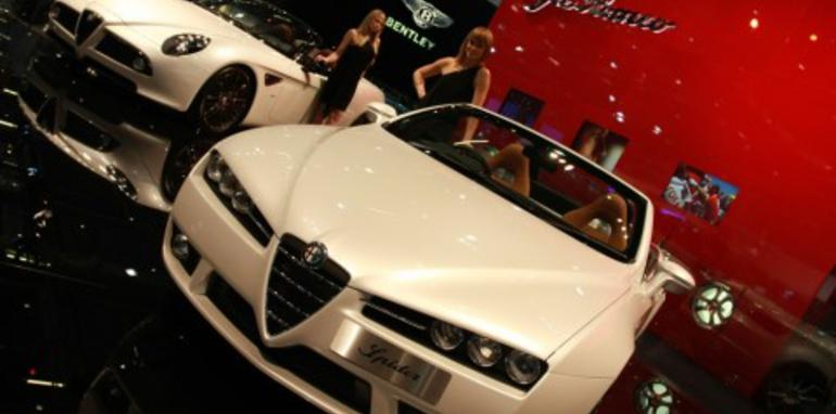 Alfa Romeo Brera S 2008 London Motorshow
