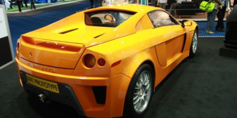 Mastretta MXT Prototype 2008 London Motorshow