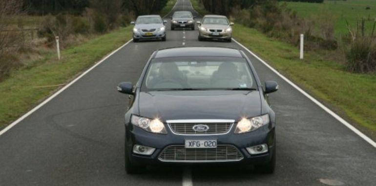 Luxury large car comparison