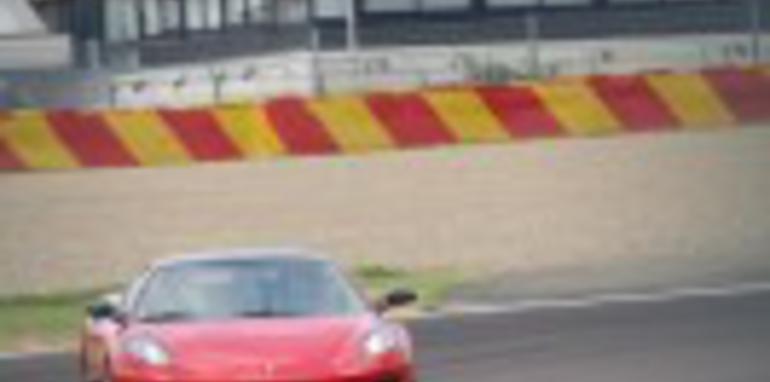 Custom Ferrari F430 spied