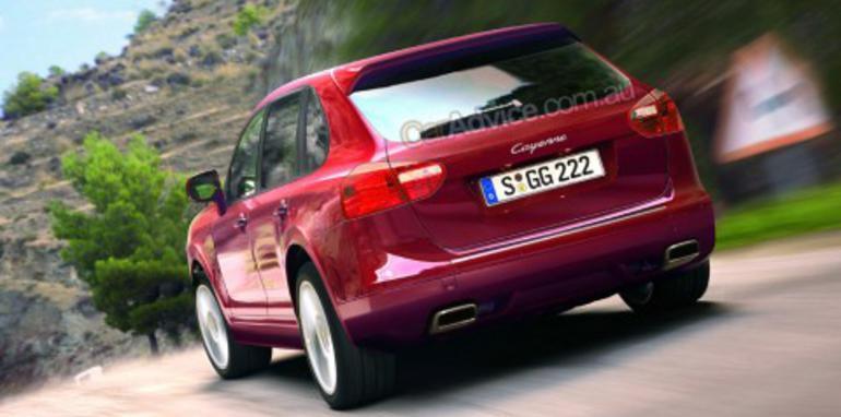2010 Porsche Cayenne CGI and spy shots