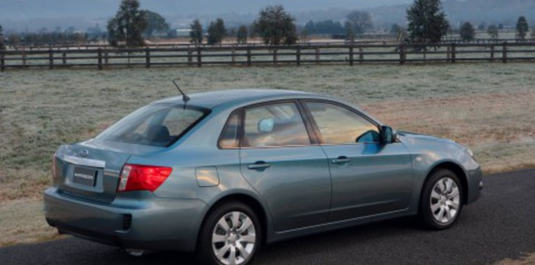 2008 Subaru Impreza sedan launched