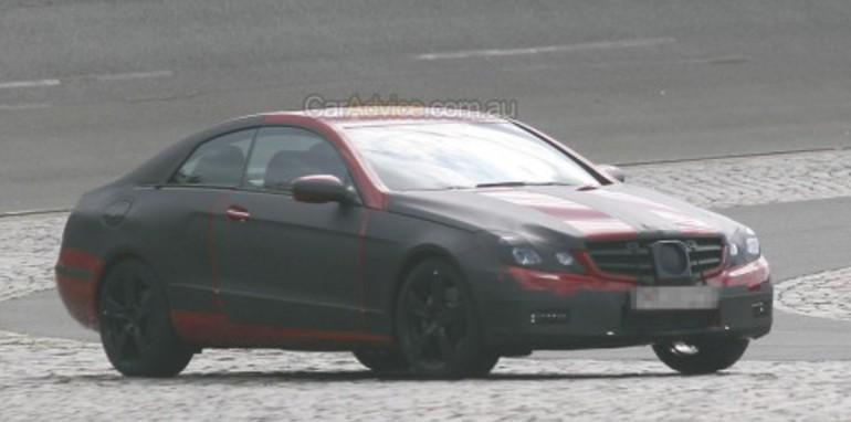 2009 Mercedes-Benz CLK Coupe spied