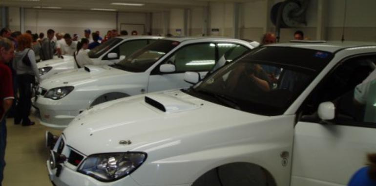 Subaru parade honours McRae legend