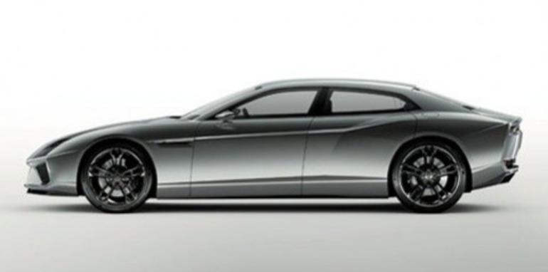 Lamborghini Estroque four-door concept leaked