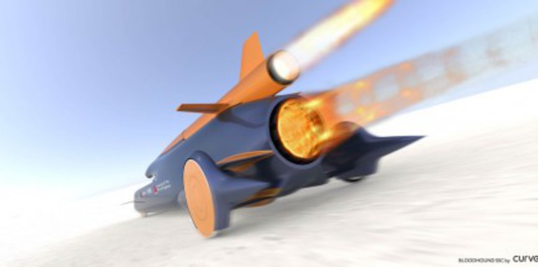 Noble & Green attempting 1,000mph land speed record