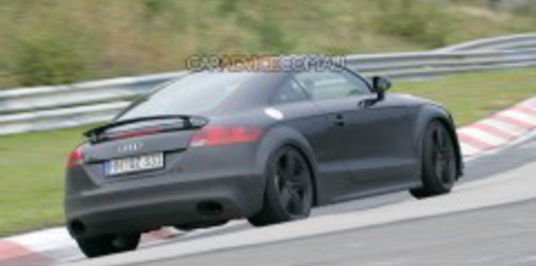 Audi TT-RS spied at 'Ring
