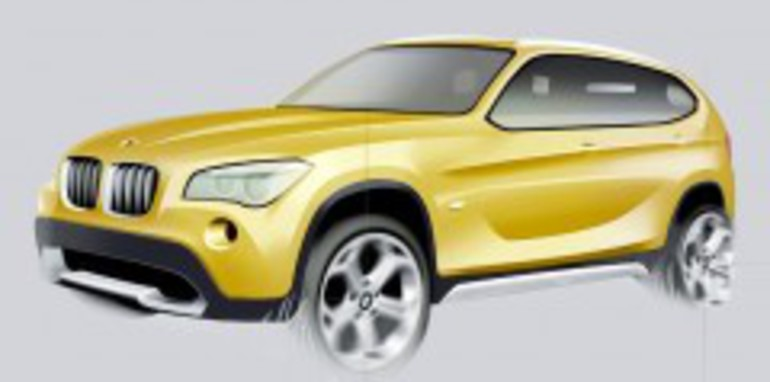 BMW X1 Concept first official images