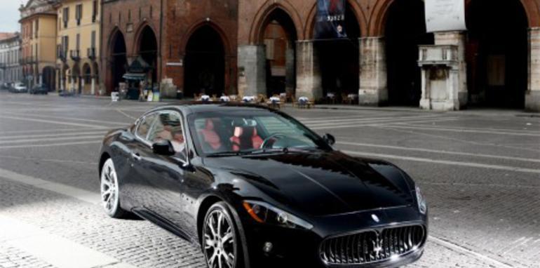 Maserati Quattroporte in Paris before Sydney Show