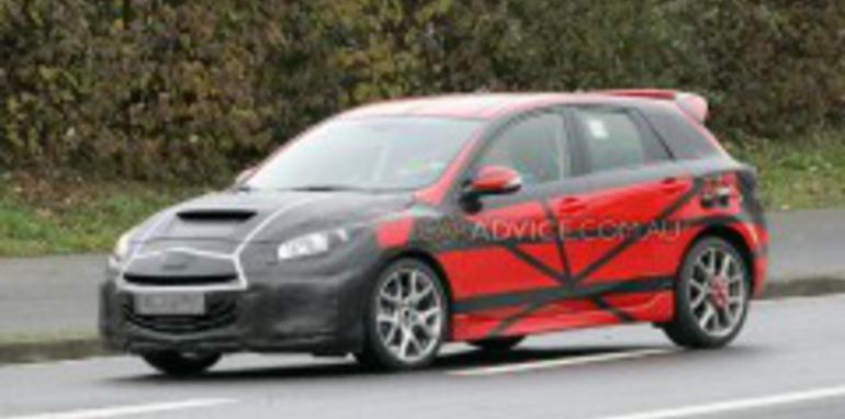 2009 Mazda3 MPS spied at Nürburgring