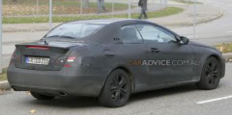 Mercedes-Benz CLK Cabriolet spied