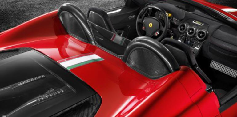 Ferrari Scuderia Spider 16M officially unveiled
