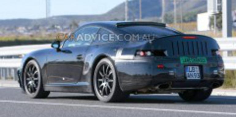 2011 Porsche 911 spied