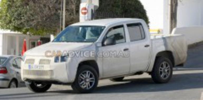 2010 Volkswagen Robust Pickup spied