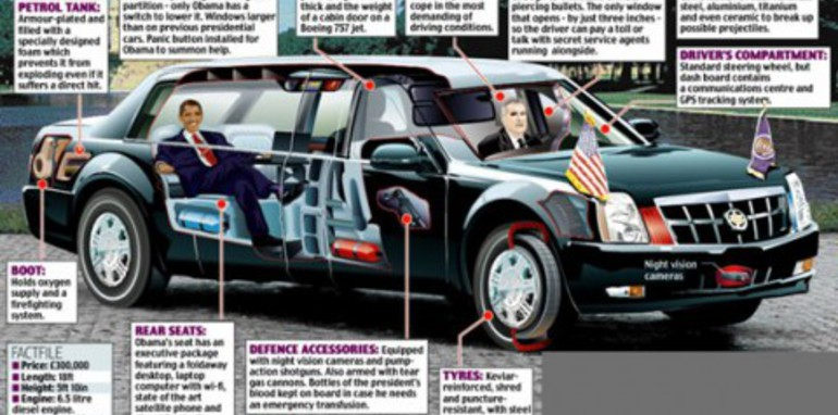Obama's Cadillac One officially unveiled