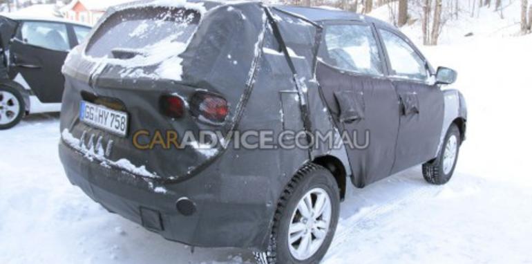 2010 Hyundai Tuscon SUV spied