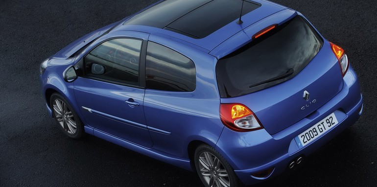 2009 Renault Clio GT face lift debut
