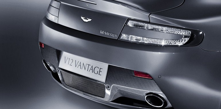 Aston Martin V12 Vantage early debut
