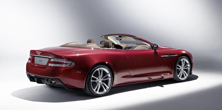 2009 Aston Martin DBS Volante at Geneva