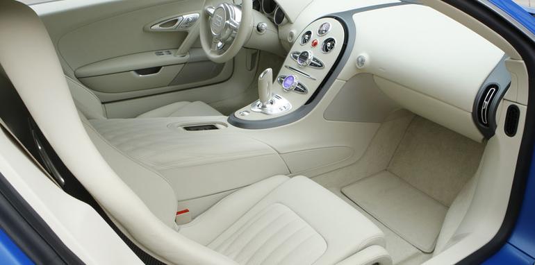 Bugatti Veyron 'Bleu Centenaire' 100th anniversary special