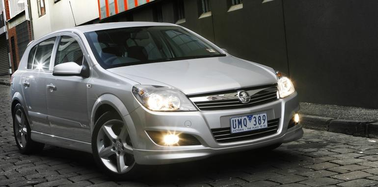 2008 Holden Astra SRi 5-Door Hatch