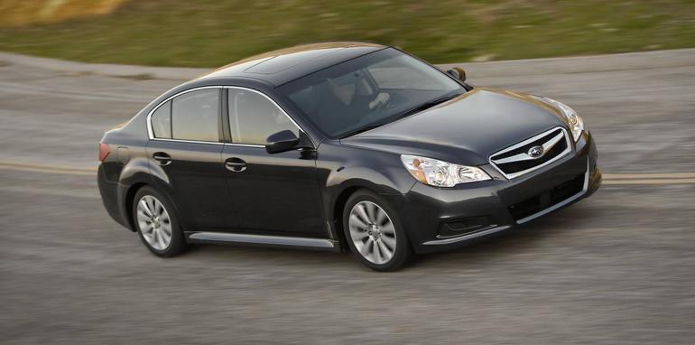 US-spec 2009 Subaru Legacy revealed