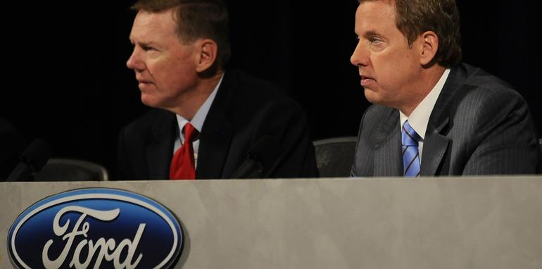 Ford Executives at 2009 Annual Shareholders Meeting