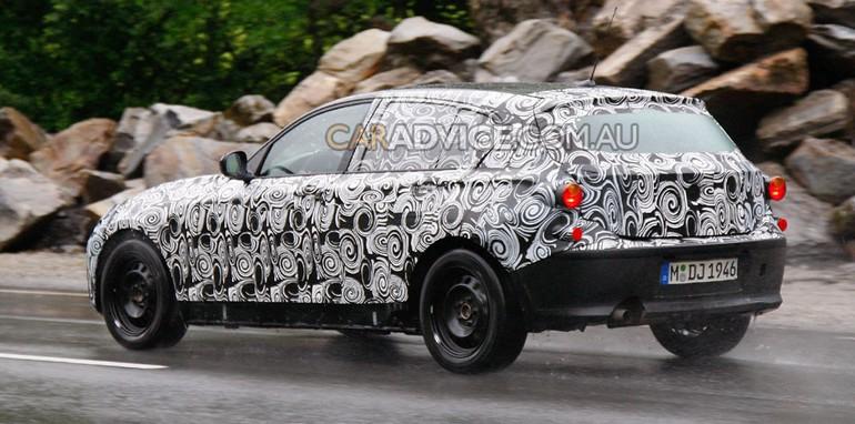 2011 BMW 1 Series prototype spied