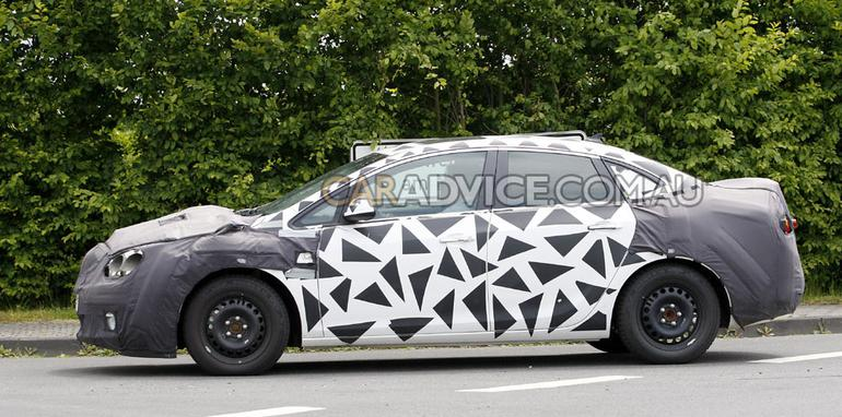 2012 Buick Excelle small sedan spied
