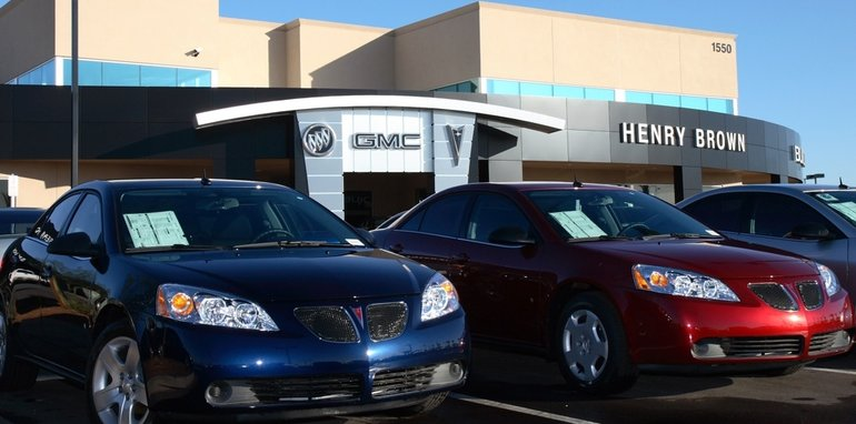 Henry Brown Buick-Pontiac-GMC Dealership Grand Opening