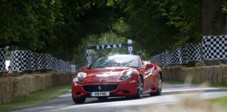 Ferrari shows off at Goodwood Festival of Speed