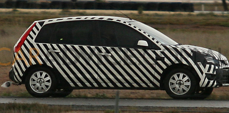 Ford Verve based small car spy photos