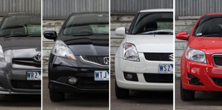 Light Cars front quarter x 6