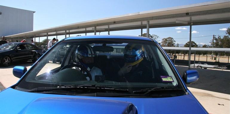 me in car 1