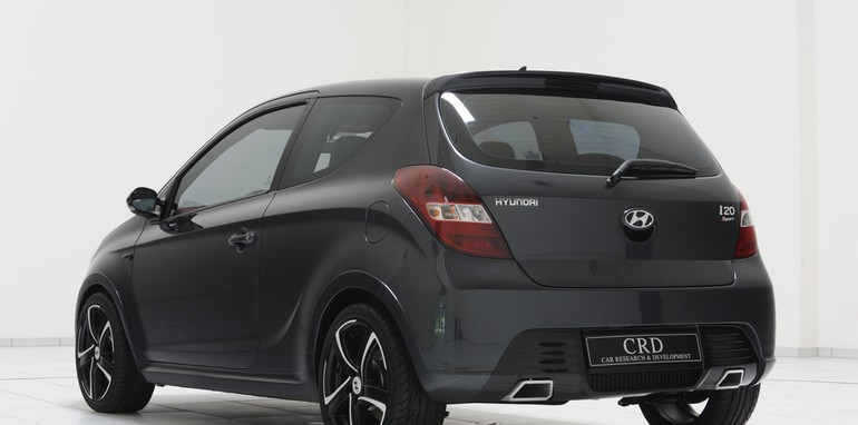 hyundai i20 sport edition enhanced by brabus unveiled. Black Bedroom Furniture Sets. Home Design Ideas