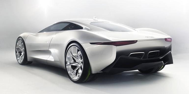 Jaguar C-X75 Concept - Rear
