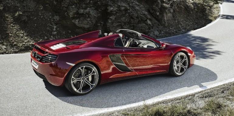 McLaren 12C Spider - 1