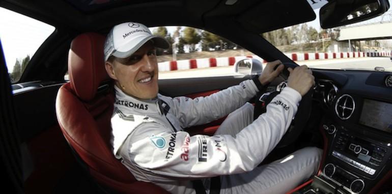 Michael Schumacher - in car