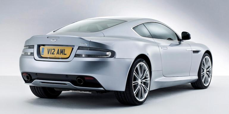 2013 Aston Martin DB9 - Rear Side