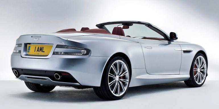 2013 Aston Martin DB9 Volante - Rear Side