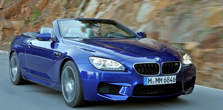 BMW M6 Convertible - Blue