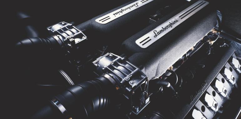 Lamborghini Gallardo Coupe - Engine
